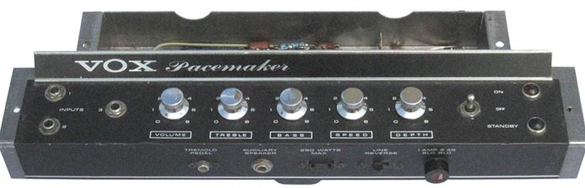 Tube Radio Guitar Amp: Part 3 Making Plans – Vox Pacemaker 1965
